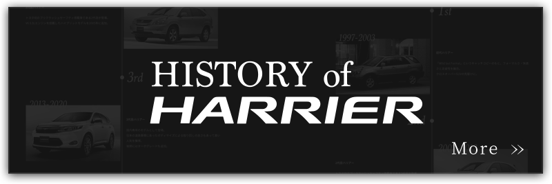 HISTORY of HARRIER
