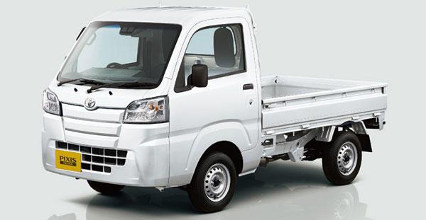 ピクシス トラックに後退時の誤発進を抑制する機能を追加