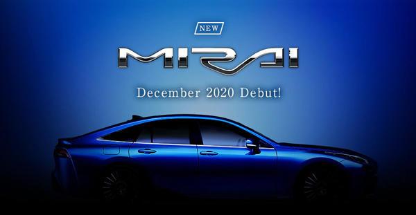 NEW MIRAI 2020年12月(予定)  Debut!
